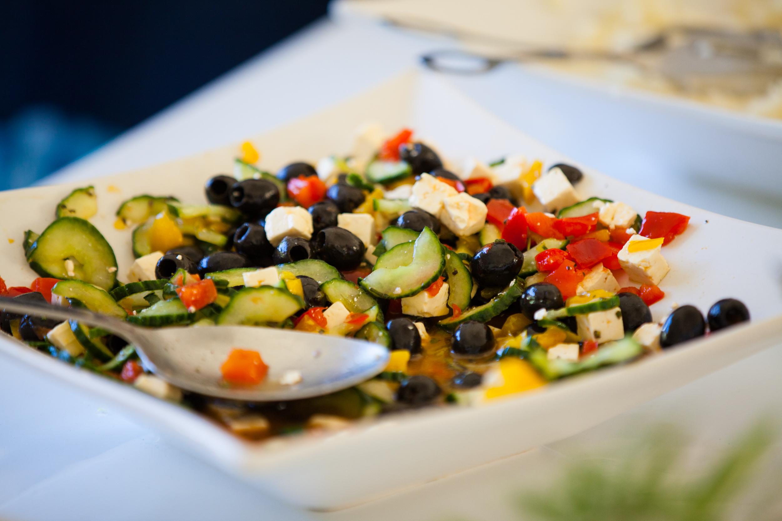 Leckeres und frisches Essen bei Catering zu privaten Anlässen