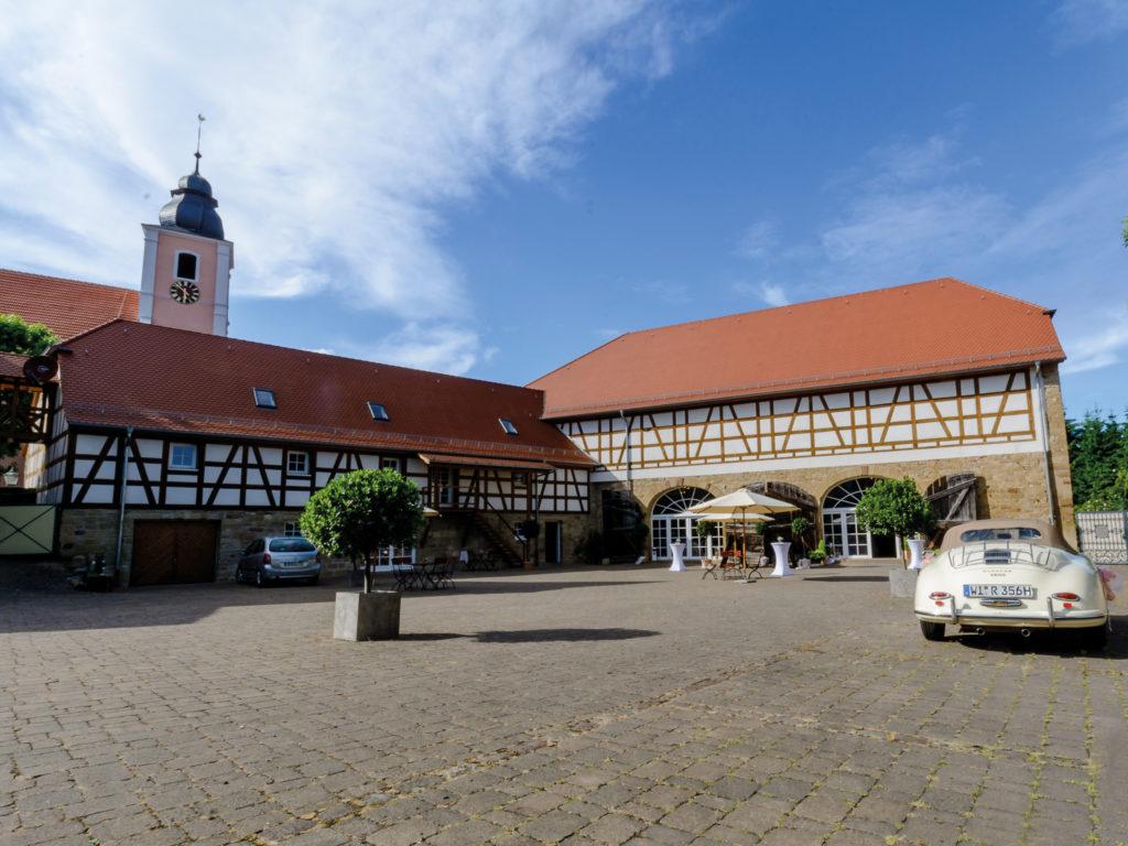 Landgut Schloss Michelfeld Innenhof