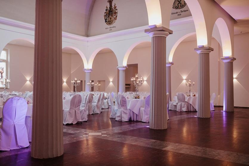 Palais Schloss Wachenheim Marmorsaal